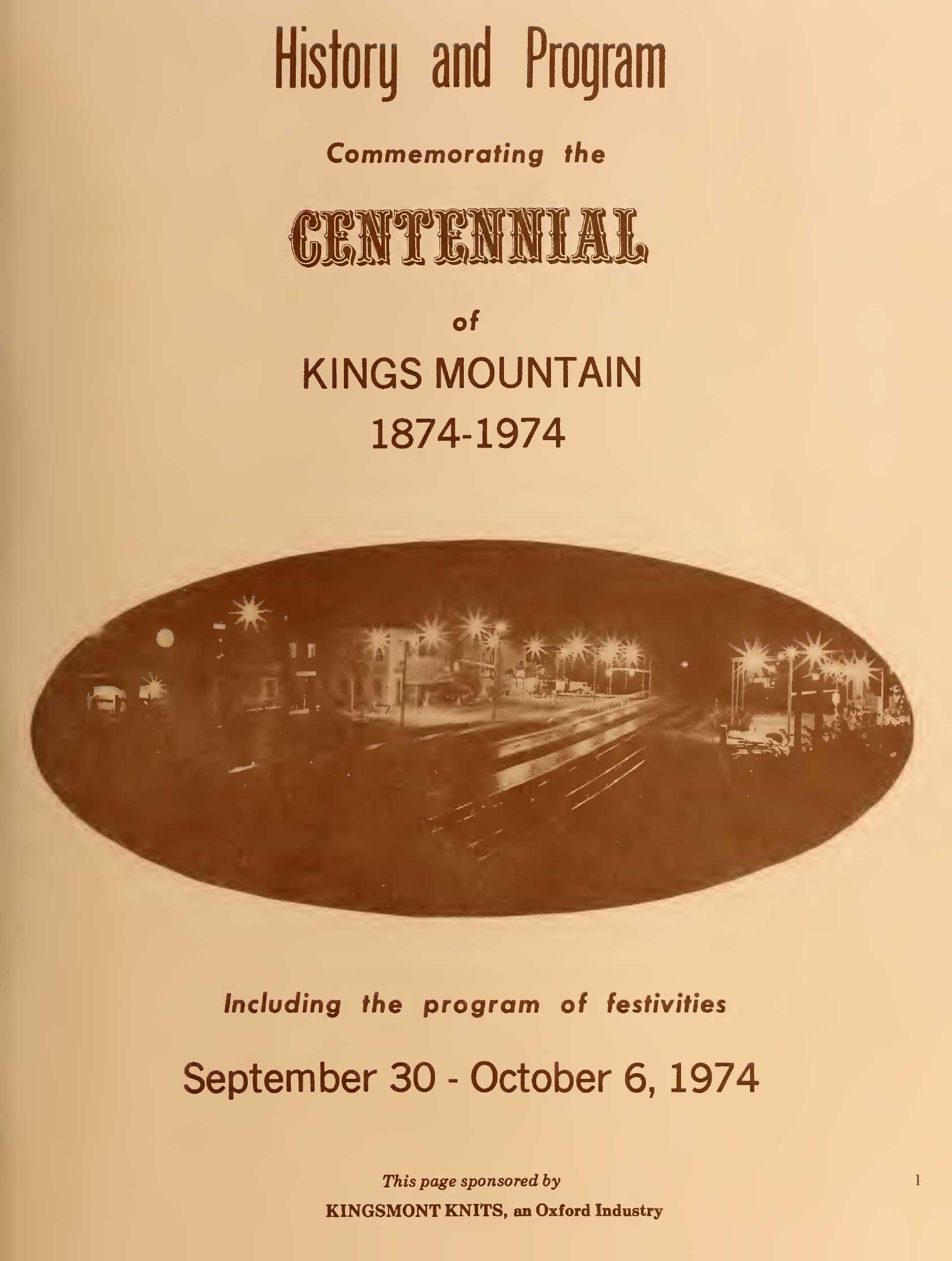 Centennial Program page 3